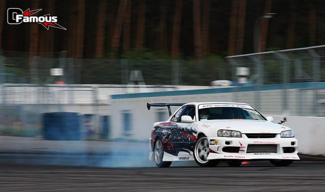 Compétition à l'IDS Round 1 2012 sur le circuit de Hockenheim