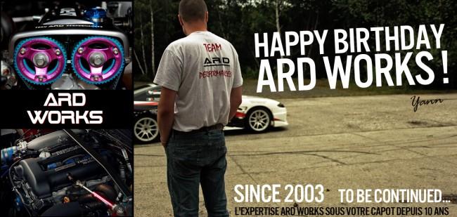 Joyeux anniversaire ARD Works