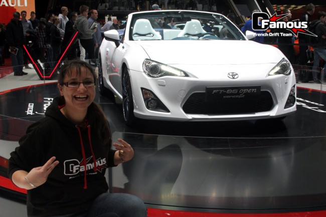 Salon de l'auto à Genève 2013