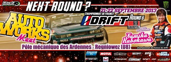 Direction le PMA pour le Round 6 du Championnat de Drift français