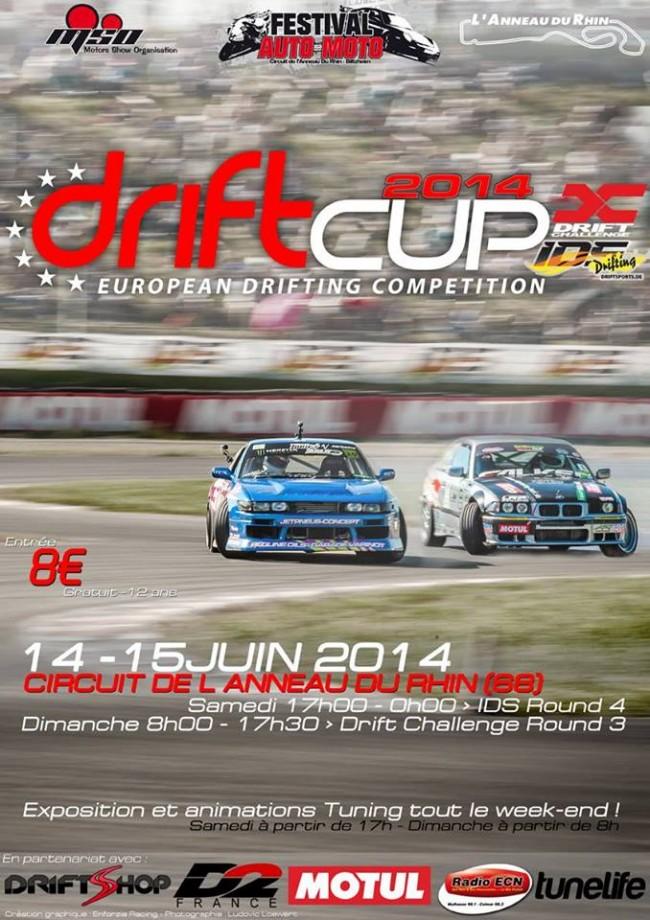 DriftCup 2014 - Anneau du Rhin