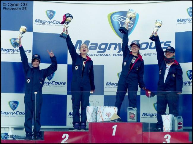 Podium pour Mélanie au round 1 de la Ladies Drift Cup 2014 !