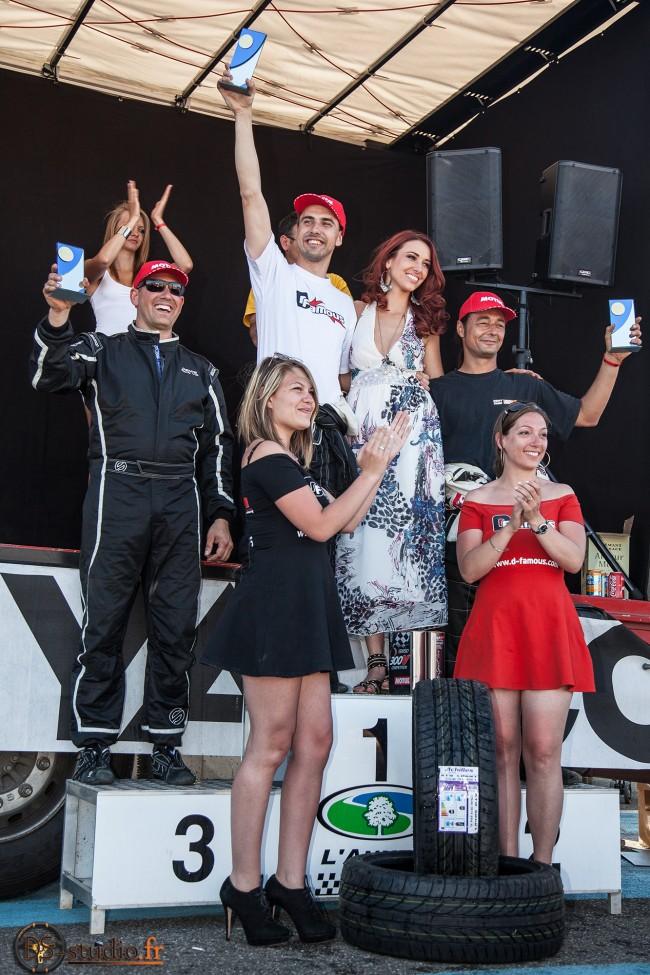 Podium DriftCup 2014 à l'Anneau du Rhin !